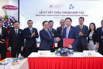 Sinh viên ĐH Bách Khoa Tp.HCM được thực tập tại Hưng Thịnh Icons