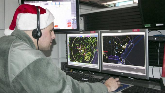 Giáng sinh,ông già Noel,quân đội Mỹ,dịch vụ theo dõi