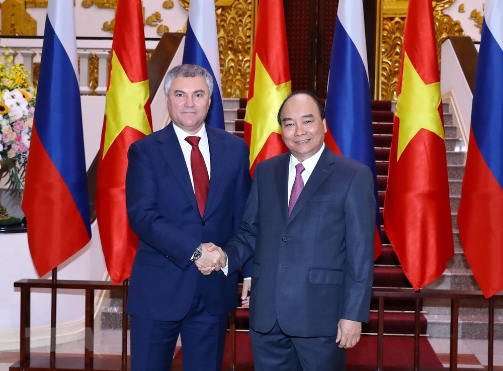 Thủ tướng Nguyễn Xuân Phúc,Nguyễn Xuân Phúc,Việt-Nga,quan hệ Việt-Nga,Chính phủ điện tử