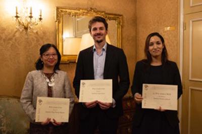 Nữ tiến sĩ người Việtđược trao giải thưởng giáo dục Pháp