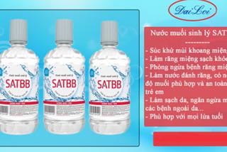 Thu hồi nhiều sản phẩm nước muối không đạt chất lượng