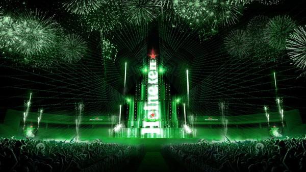 Heineken Countdown Party lần đầu 'thắp sáng' Đất Cảng