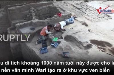 Phát hiện nơi hiến tế con người có niên đại 1000 năm