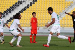 Đối thủ của tuyển Việt Nam đả bại Trung Quốc trước Asian Cup