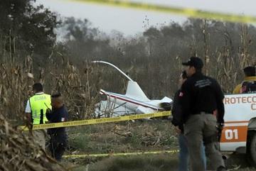 Rơi trực thăng, nữ thống đốc Mexico tử nạn