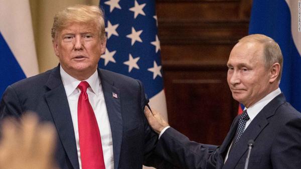 Tổng thống Putin,Donald Trump,quan hệ Mỹ - Nga
