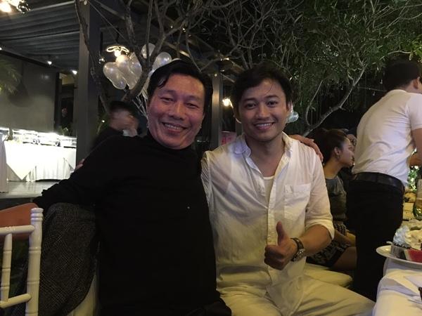 Diễn viên Kiến An và diễn viên Quý Bình.