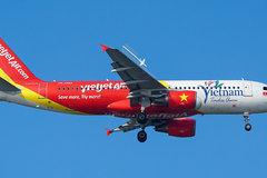 Máy bay Vietjet Air hạ cánh khẩn cấp xuống Đài Loan