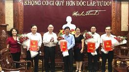 6 tỉnh bổ nhiệm nhân sự mới
