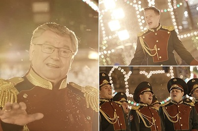 Xem Vệ binh Quốc gia Nga làm mới ca khúc Giáng sinh nổi tiếng