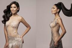 Á hậu Nguyễn Thị Loan khoe vóc dáng nóng bỏng với váy xuyên thấu