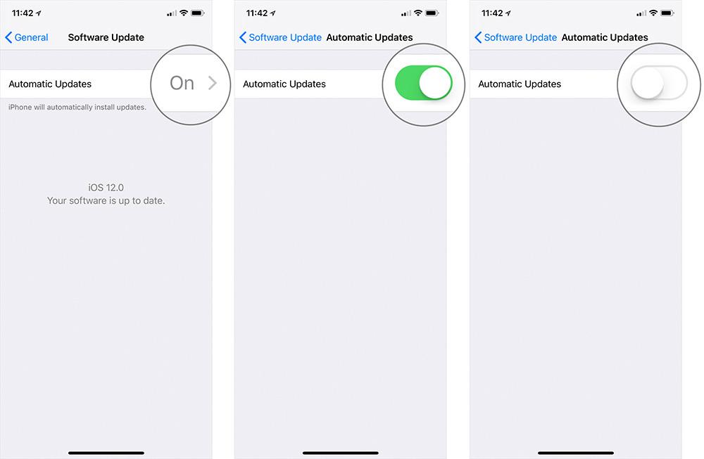 Cách hủy ngang quá trình cập nhật iOS trên iPhone, iPad