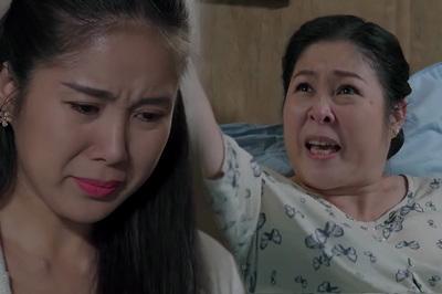 'Gạo nếp gạo tẻ' tập 102: Hồng Vân đổ cho Lê Phương tiết lộ chuyện ngoại tình của em gái