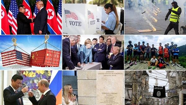 Những sự kiện thế giới nổi bật năm 2018