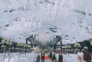 Những đám cưới xa hoa bậc nhất 2018: Trang trí 4 tỉ, siêu xe triệu đô