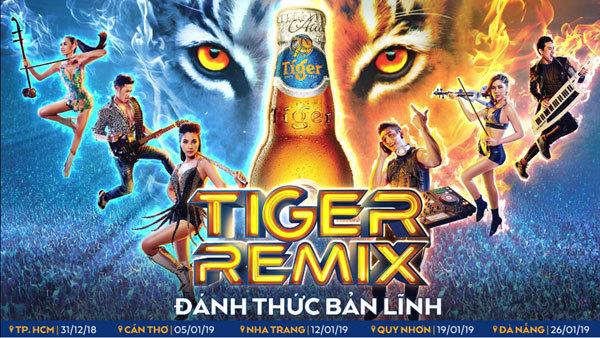 Đại nhạc hội Tiger Remix 2019 quy tụ dàn sao khủng