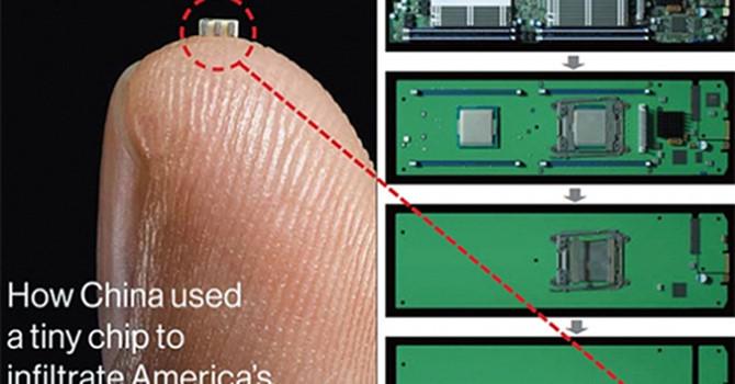 Phát hiện chip gián điệp được cài sẵn trong máy chủ của Amazon và Apple?