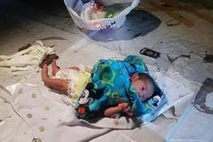 Cha mẹ cãi nhau, bé 2 tuần tuổi bị bỏ giữa chợ Thái Lan