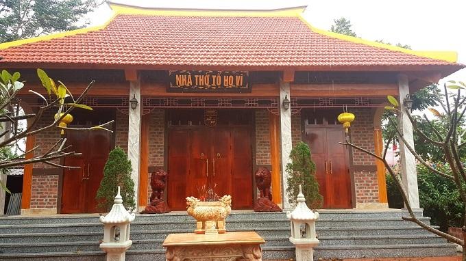 Tổng đốc Vi Văn Định,Biệt phủ,Lạng Sơn