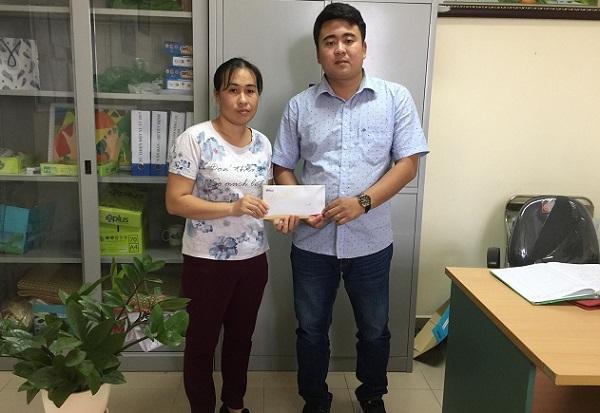 Em Nguyễn Trung Hiếu được bạn đọc ủng hộ 15 triệu đồng