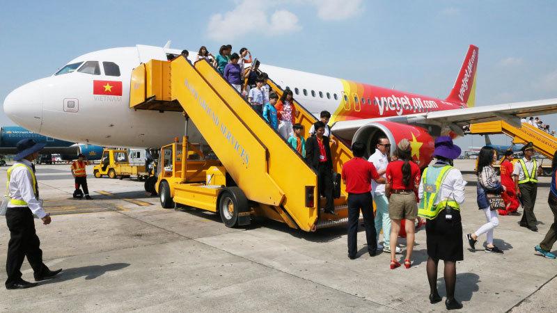 sự cố hàng không,Vietjet Air