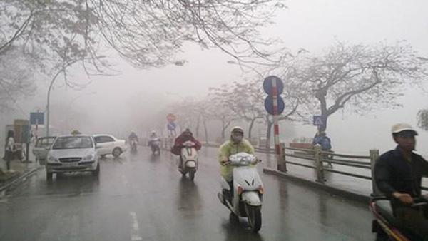 Dự báo thời tiết 28/12: Hà Nội chìm trong mưa rét
