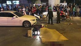Ngã ra đường sau va chạm BMW, nữ sinh bị xe buýt cán tử vong