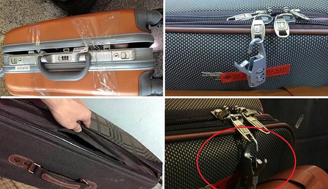 Đạo chích đột nhập máy bay: Tiền tết để vali coi chừng bị lột sạch
