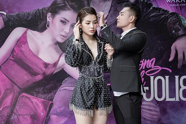 Phương Trinh Jolie đóng MV 16+ với 'người tình tin đồn' kém tuổi