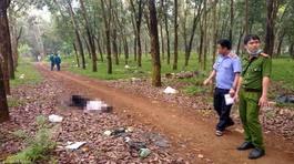 Người đàn ông tật nguyền chết bất thường trong rừng cao su