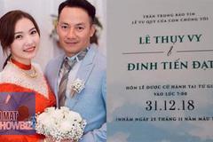 Tiến Đạt cưới vợ sau mối tình 9 năm với Hari Won