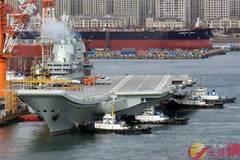 Tàu sân bay TQ tự chế vào giai đoạn thử nghiệm mới