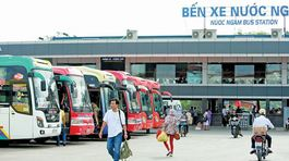Cao điểm Tết Dương lịch: Không tăng giá vé xe khách