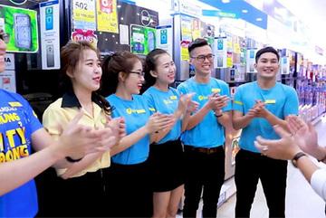 Thế giới di động tuyển 2.000 nhân viên dịp cận Tết