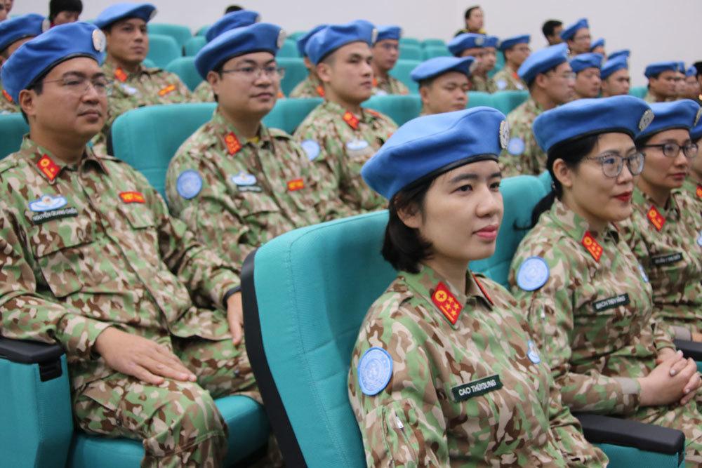gìn giữ hòa bình,Liên hợp quốc,Bộ Quốc phòng,Nguyễn Chí Vịnh