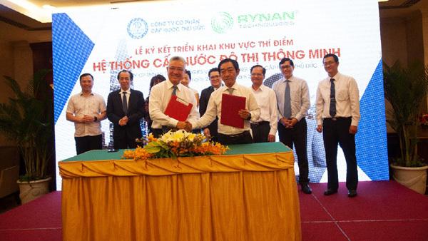 Rynan- Wasuco phát triển mô hình 'hệ thống cấp nước thông minh'