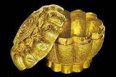 Hộp vàng tìm thấy ở Ngọa Vân được công nhận là Bảo vật Quốc gia