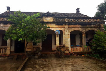 The old French colonial house of a wealthy family in Lang Son
