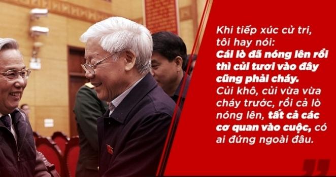 Chống tham nhũng,U23 Việt Nam,Tổng bí thư Nguyễn Phú Trọng,Nợ công,Bóng đá Việt Nam,Lò nóng củi tươi