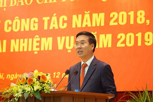 Võ Văn Thưởng,báo chí,mạng xã hội