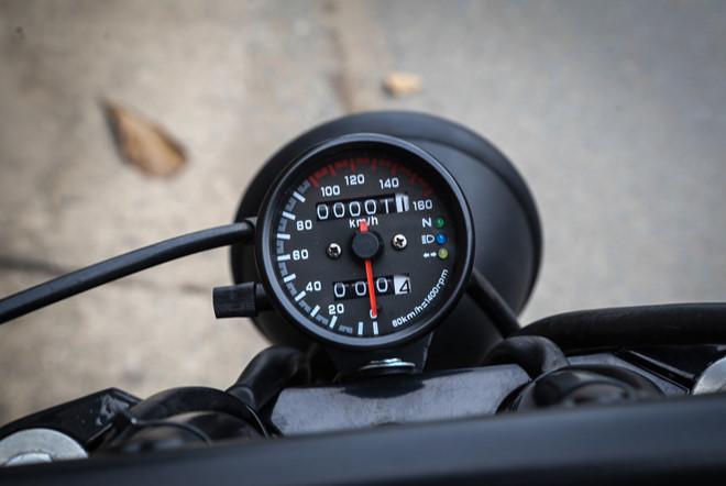 Honda Shadow 400 đời 1997 lột xác như mới của biker Hải Phòng