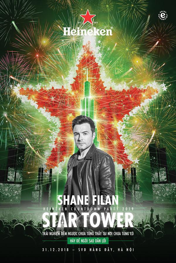 Bí kíp không bỏ lỡ Countdown Party hot nhất cùng Shane Filan
