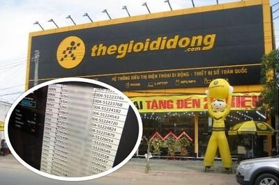 Tin tặc tuyên bố có tài khoản thẻ của khách hàng Thế giới di động