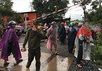 Sạt lở núi, đè sập nhà vùi chết 3 người một gia đình ở Khánh Hòa