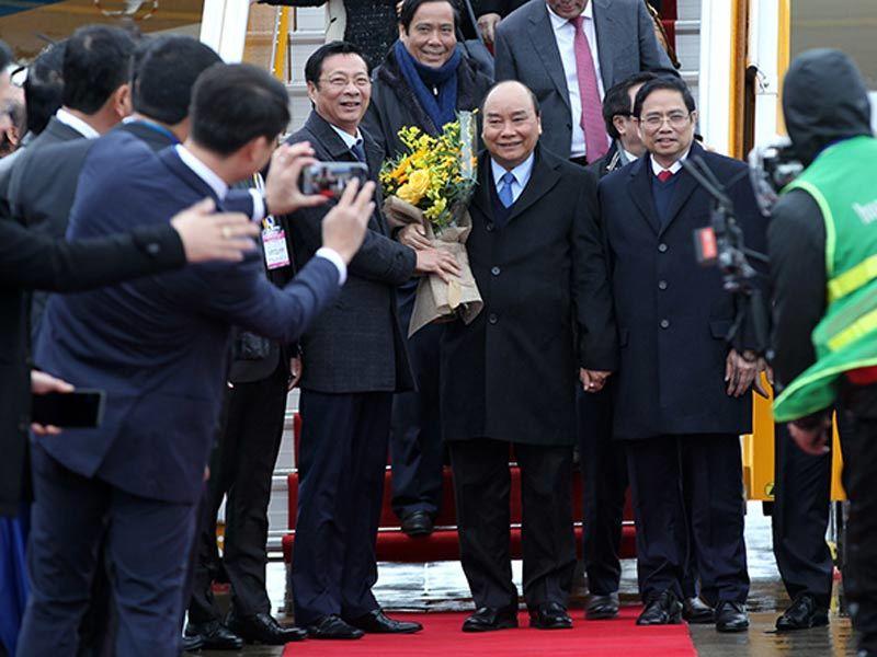 Quảng Ninh,sân bay Vân đồn,Thủ tướng Nguyễn Xuân Phúc