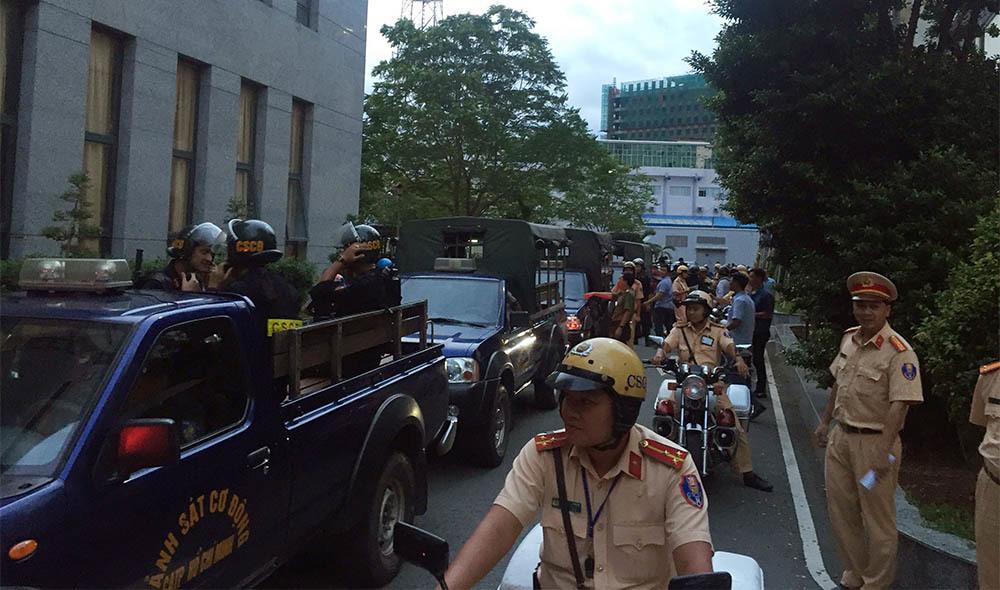 lực lượng 141,công an,Sài Gòn