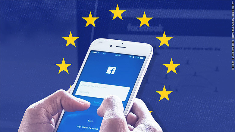 Facebook có thể bị phạt rất nặng tại châu Âu