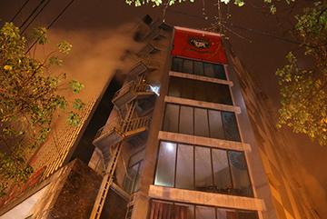 Khói bao trùm thiên đường giải trí lớn nhất Quảng Trị