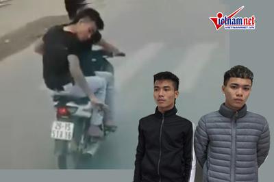 Hà Nội: Tạm giữ 2 thanh niên ngang nhiên rải đinh trước đầu xe tải