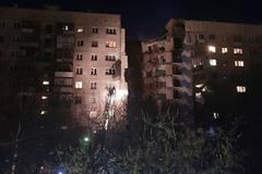 Nổ khí gas kinh hoàng ở chung cư Nga